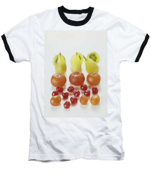 Candied Fruit Baseball T-Shirt