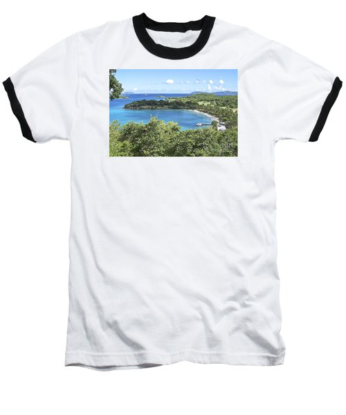Baseball T-Shirt featuring the photograph Caneel Bay by Carol  Bradley