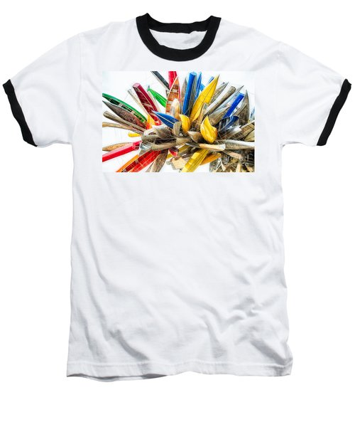Canoe Art II Baseball T-Shirt