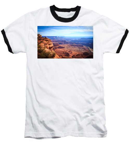 Baseball T-Shirt featuring the photograph Canyonlands - A Landscape To Get Lost In by Peta Thames