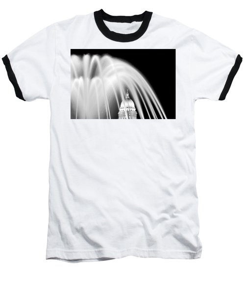 Capitol Fountain Baseball T-Shirt