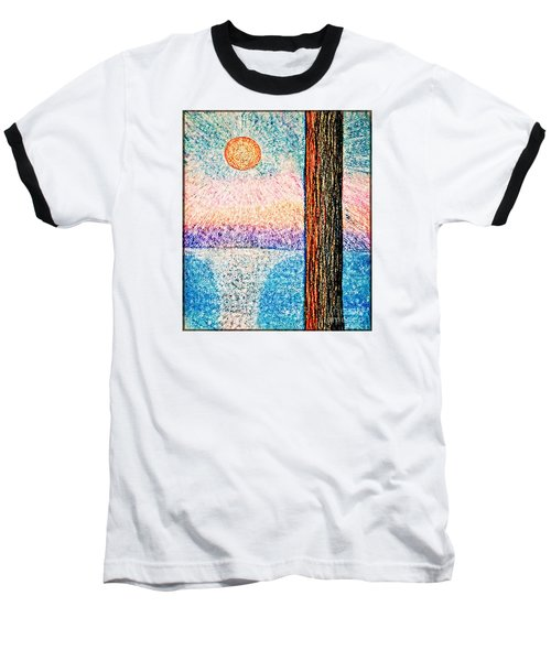 Carmel Highlands Sunset Baseball T-Shirt