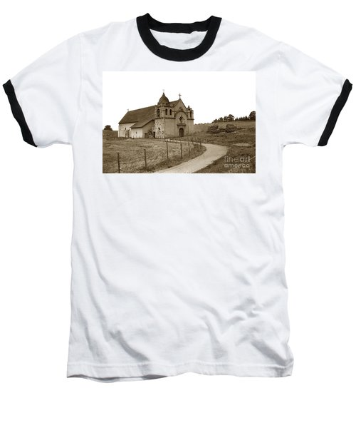 Carmel Mission Monterey Co. California Circa 1890 Baseball T-Shirt