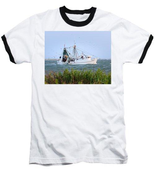 Carolina Girls Shrimp Boat Baseball T-Shirt