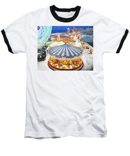 Carousel Waltz Baseball T-Shirt