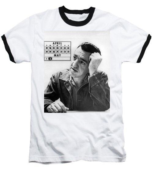 Caryl Chessman Baseball T-Shirt by Underwood Archives