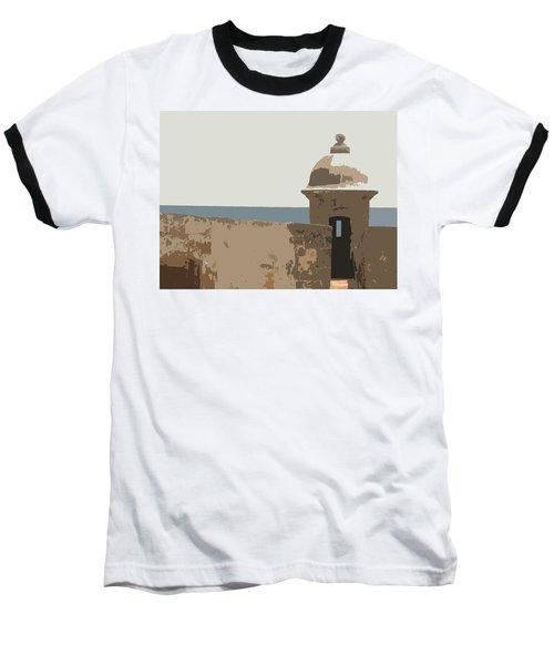 Casita Baseball T-Shirt by Julio Lopez