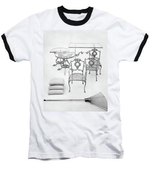 Cast Aluminum Furniture By Molla Baseball T-Shirt