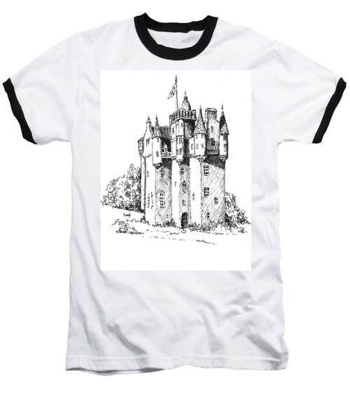 Castle Baseball T-Shirt