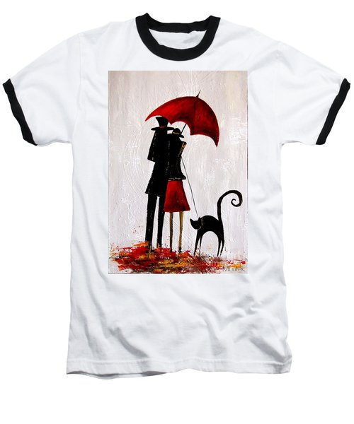 Cat 726 Baseball T-Shirt