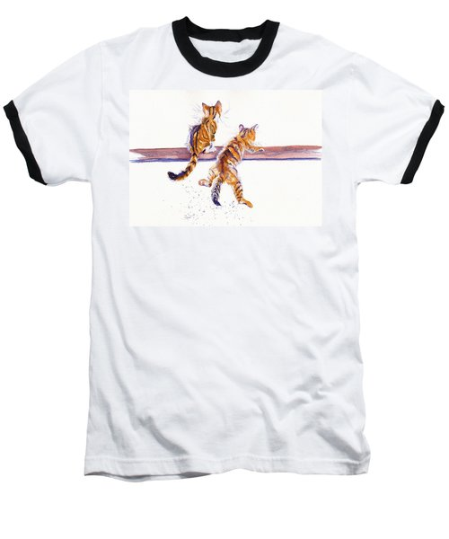 Cat-astrophe Baseball T-Shirt