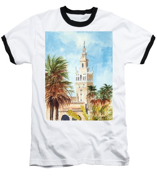 Catedral De Sevilla Baseball T-Shirt