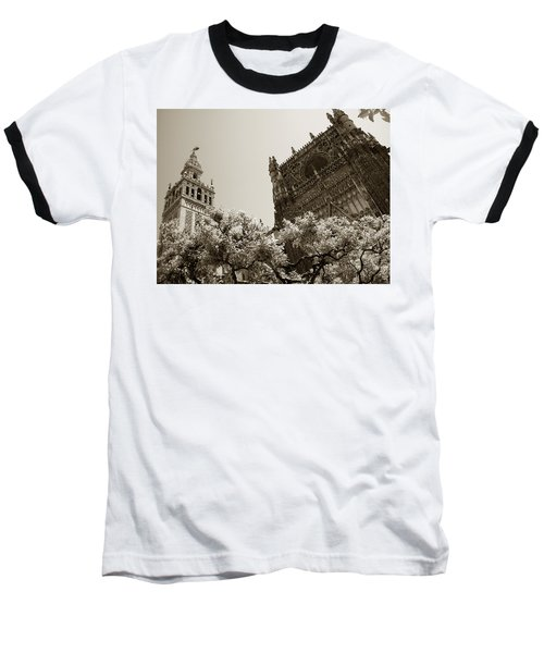 Cathedral Of Seville Baseball T-Shirt