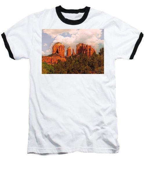 Cathedral Rock Sunset Baseball T-Shirt