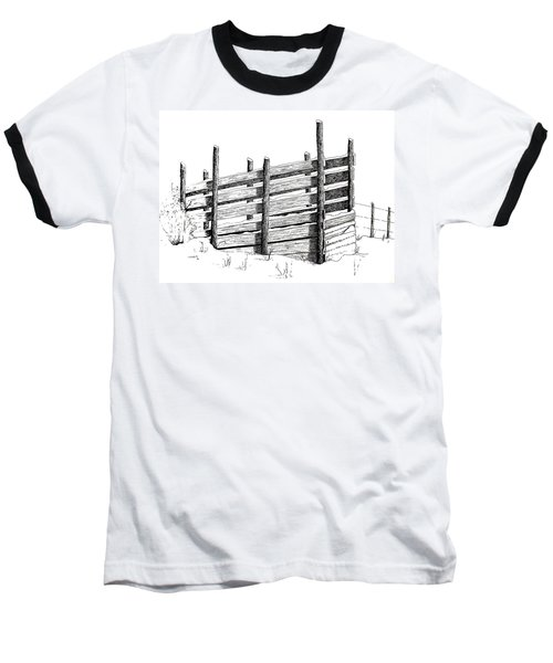 Cattle Chute Ink Baseball T-Shirt