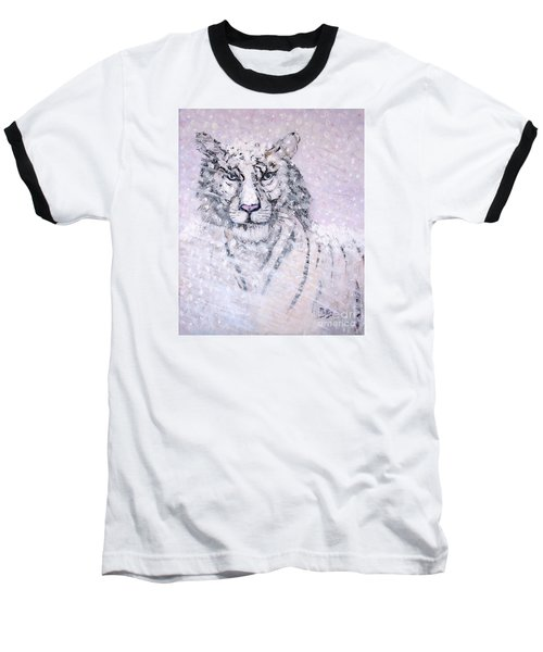 Baseball T-Shirt featuring the painting Chairman Of The Board by Phyllis Kaltenbach