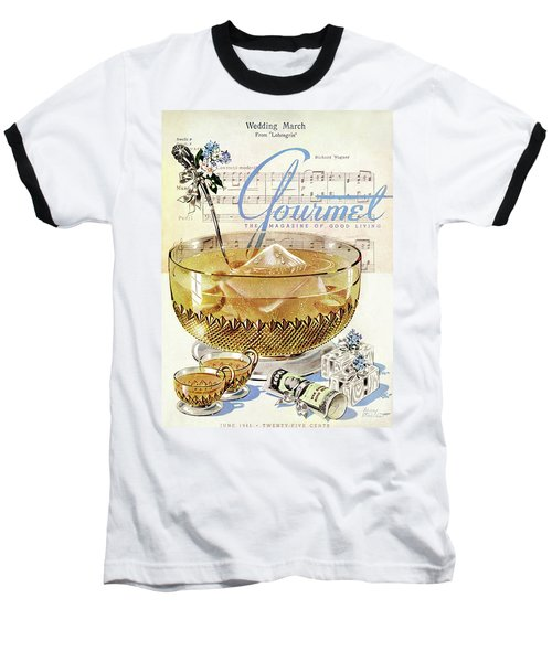 Champagne Punch And The Wedding March Baseball T-Shirt