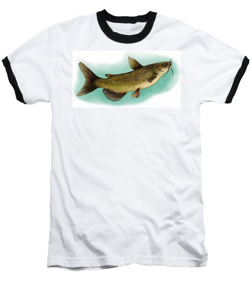 Channel Catfish Baseball T-Shirt