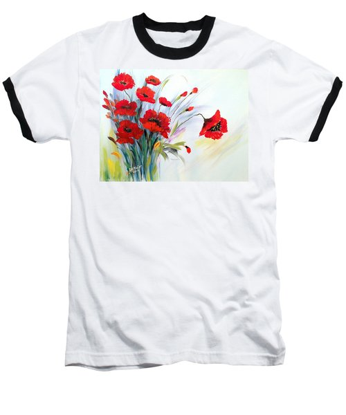 Charming Baseball T-Shirt by Dorothy Maier