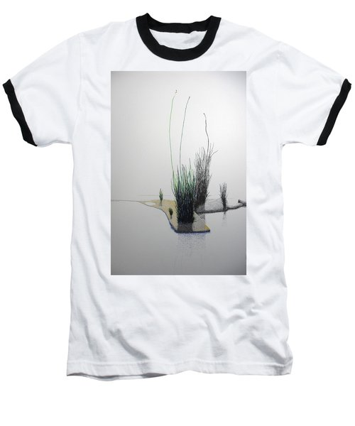 Baseball T-Shirt featuring the painting Chasm by A  Robert Malcom