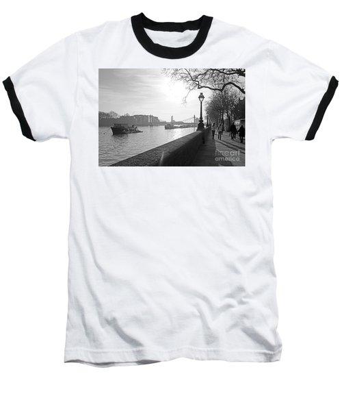 Chelsea Embankment London Uk 3 Baseball T-Shirt