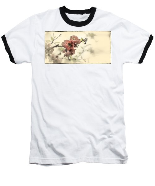 Baseball T-Shirt featuring the photograph Cherry Blossoms by Peter v Quenter