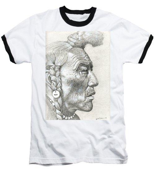 Bear Bull, Blackfoot Baseball T-Shirt