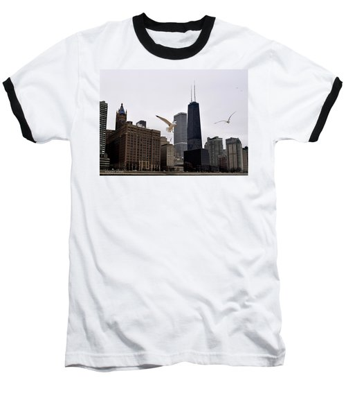 Chicago Birds 2 Baseball T-Shirt