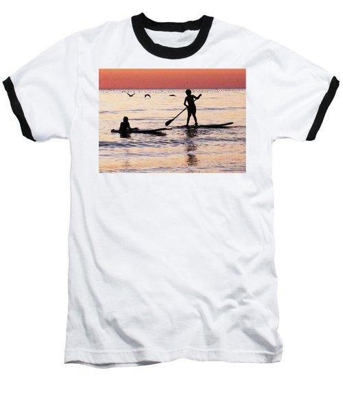 Child Art - Magical Sunset Baseball T-Shirt