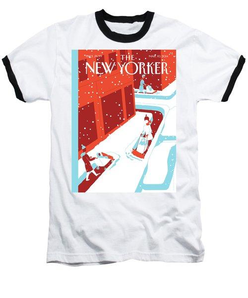 Snowplows Baseball T-Shirt