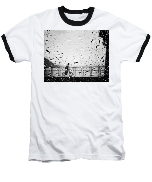 Children In Rain Baseball T-Shirt