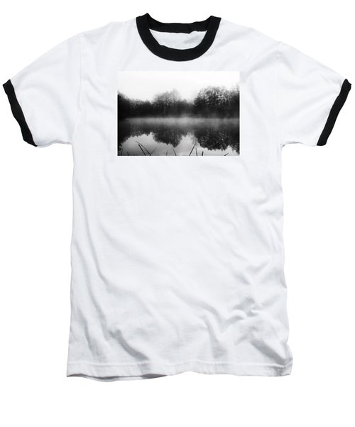 Baseball T-Shirt featuring the photograph Chilly Morning Reflections by Miguel Winterpacht