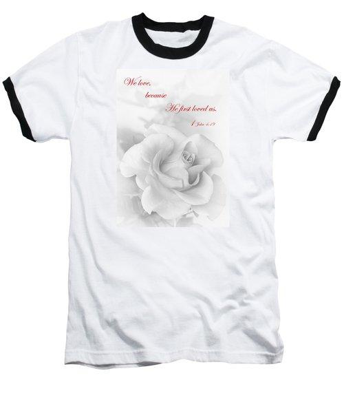 Christian Love Baseball T-Shirt by David and Carol Kelly