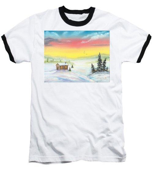 Christmas Morning Baseball T-Shirt