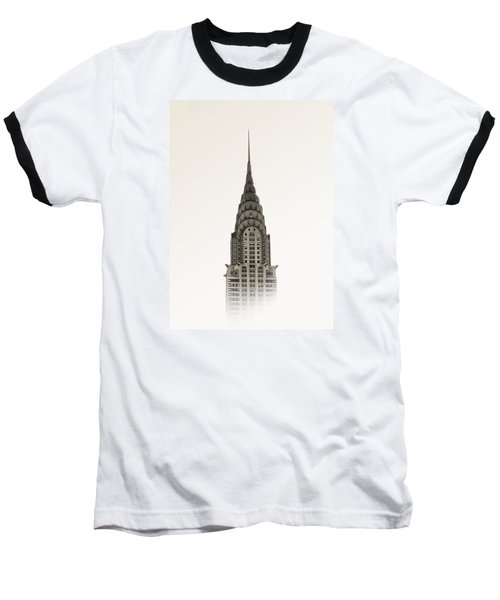 Chrysler Building - Nyc Baseball T-Shirt by Nicklas Gustafsson