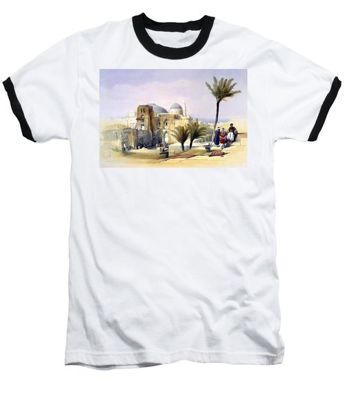 Church Of The Holy Sepulchre In Jerusalem Baseball T-Shirt