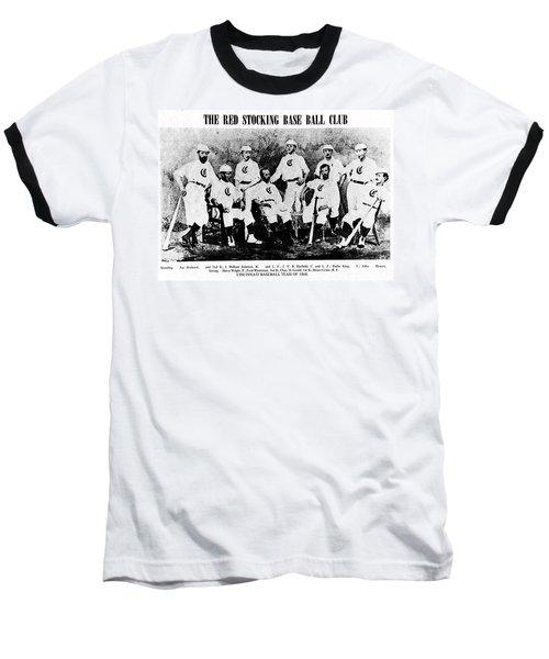 Cincinnati Red Stocking Baseball Team Baseball T-Shirt