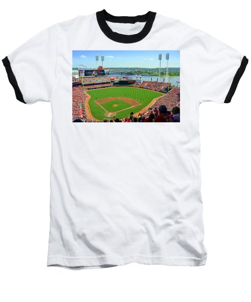 Cincinnati Reds Stadium Baseball T-Shirt
