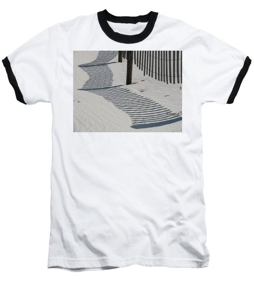Circus Beach Fence Baseball T-Shirt