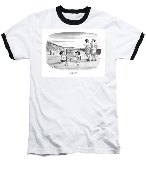 City Kids Baseball T-Shirt