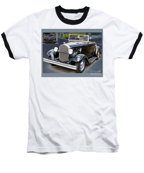 Classic Ford Baseball T-Shirt by Victoria Harrington