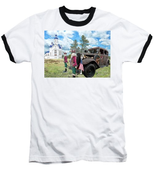 Baseball T-Shirt featuring the photograph Classic Ride by Liane Wright