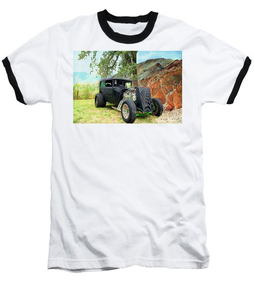 Baseball T-Shirt featuring the photograph Classic Rod by Liane Wright