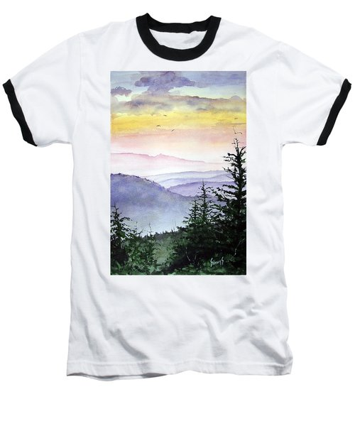 Clear Mountain Morning II Baseball T-Shirt