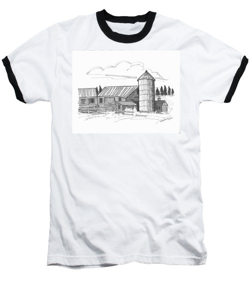 Clermont Barn 2 Baseball T-Shirt