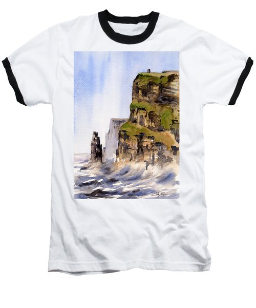 Clare   The Cliffs Of Moher   Baseball T-Shirt