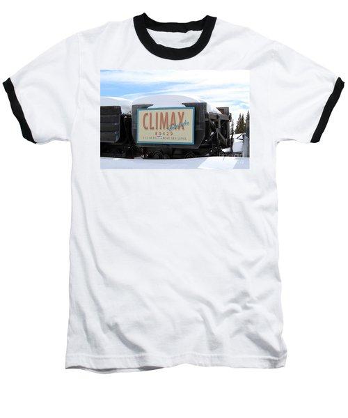 Baseball T-Shirt featuring the photograph Climax Colorado by Fiona Kennard