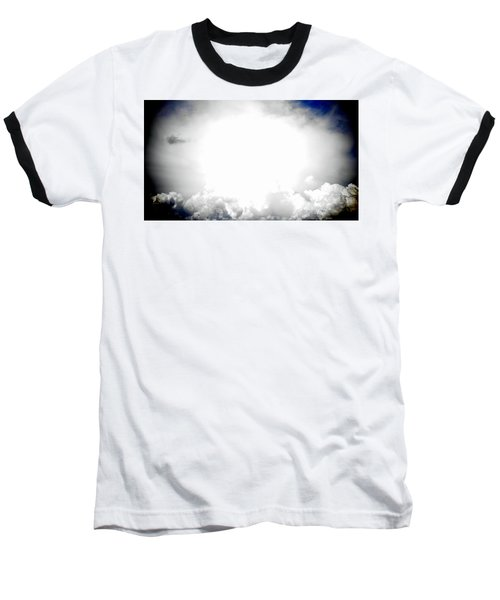 Cloudburst Sky Celestial Cloud Art Xl Resolution Baseball T-Shirt
