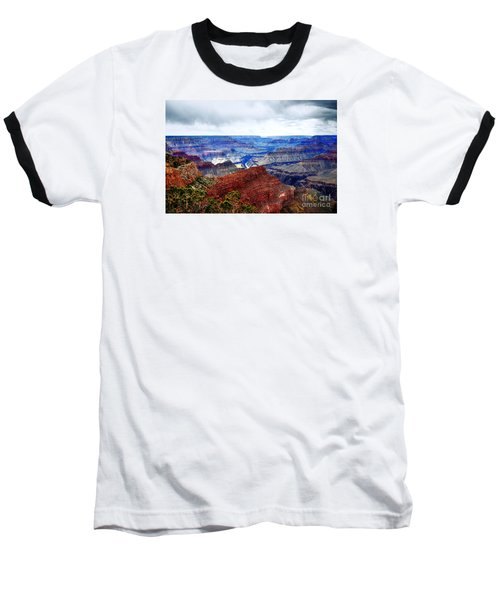 Baseball T-Shirt featuring the photograph Cloudy Day At The Canyon by Paul Mashburn