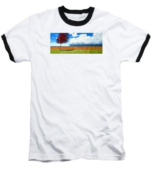 Cloudy Day Baseball T-Shirt